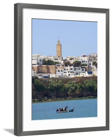 River Bouregreg, Rabat, Morocco, North Africa, Africa-Graham Lawrence-Framed Art Print