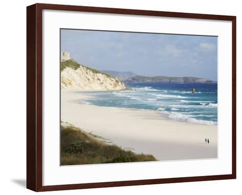 Mandalay Beach, D'Entrecasteaux National Park, Western Australia, Australia, Pacific-Ian Trower-Framed Art Print