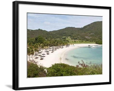Canouan Resort at Carenage Bay, Canouan Island, St. Vincent and the Grenadines, Windward Islands-Michael DeFreitas-Framed Art Print