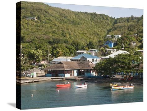 Port Elizabeth, Bequia, St. Vincent and the Grenadines, Windward Islands, West Indies, Caribbean-Michael DeFreitas-Stretched Canvas Print