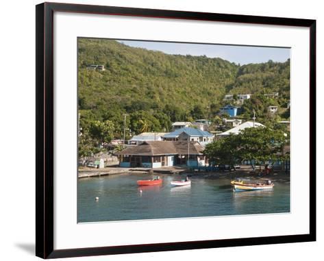 Port Elizabeth, Bequia, St. Vincent and the Grenadines, Windward Islands, West Indies, Caribbean-Michael DeFreitas-Framed Art Print