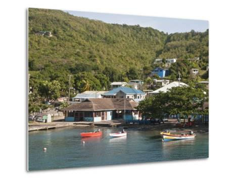 Port Elizabeth, Bequia, St. Vincent and the Grenadines, Windward Islands, West Indies, Caribbean-Michael DeFreitas-Metal Print