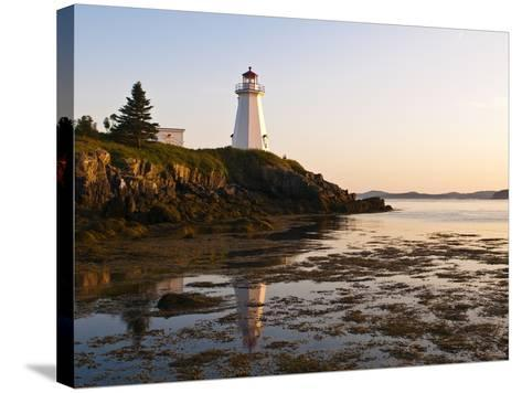 Letite Passage Lighthouse (Green's Point Lightstation), New Brunswick, Canada, North America-Michael DeFreitas-Stretched Canvas Print