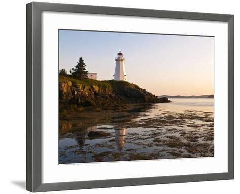 Letite Passage Lighthouse (Green's Point Lightstation), New Brunswick, Canada, North America-Michael DeFreitas-Framed Art Print