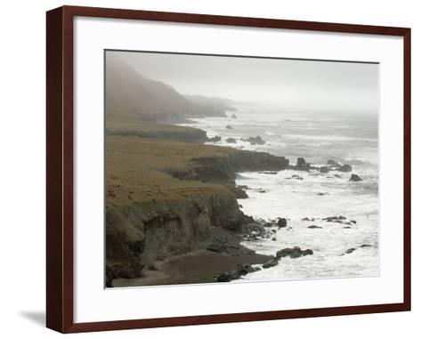 South Coast Near Hofn, Iceland, Polar Regions-Sergio Pitamitz-Framed Art Print