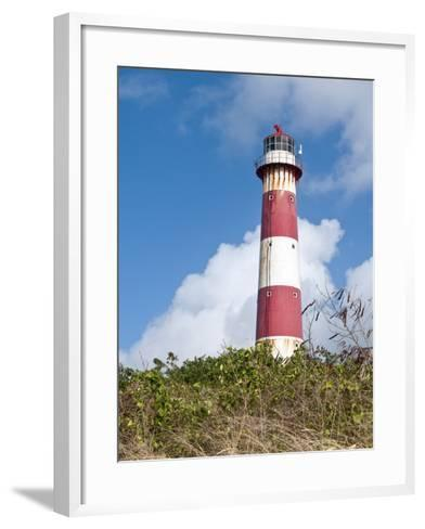 South Point Lighthouse, Barbados, Windward Islands, West Indies, Caribbean, Central America-Michael DeFreitas-Framed Art Print