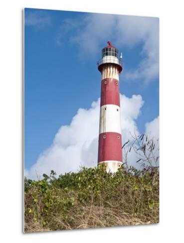 South Point Lighthouse, Barbados, Windward Islands, West Indies, Caribbean, Central America-Michael DeFreitas-Metal Print