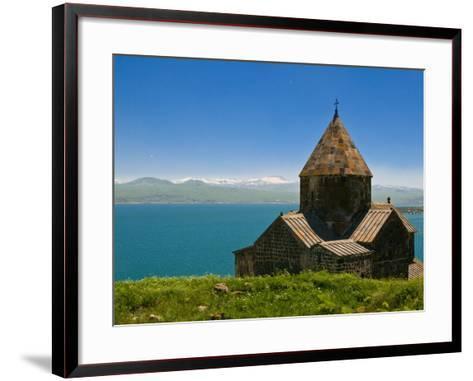 Sevanavank (Sevan Monastery) By Lake Sevan, Armenia, Caucasus, Central Asia, Asia-Michael Runkel-Framed Art Print