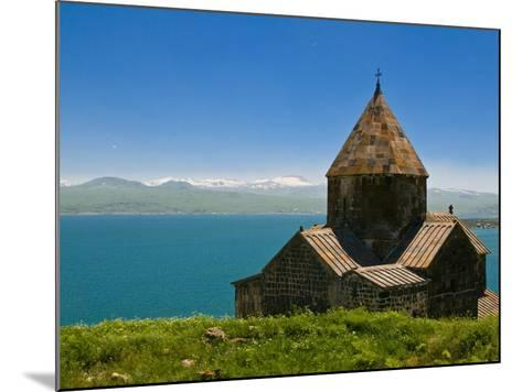 Sevanavank (Sevan Monastery) By Lake Sevan, Armenia, Caucasus, Central Asia, Asia-Michael Runkel-Mounted Photographic Print