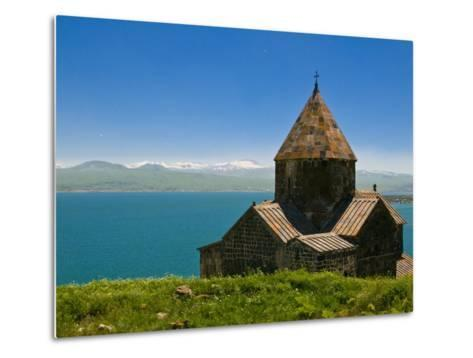 Sevanavank (Sevan Monastery) By Lake Sevan, Armenia, Caucasus, Central Asia, Asia-Michael Runkel-Metal Print