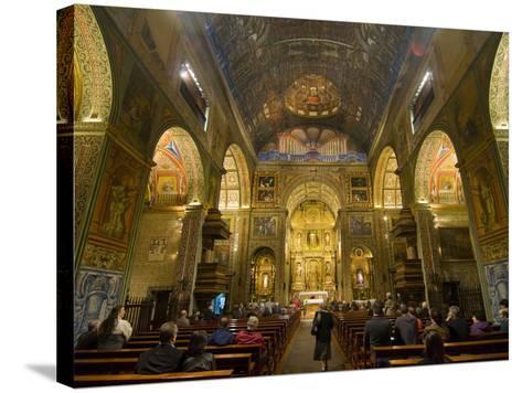 Inside the Igreja Do Colegio, Funchal, Madeira, Portugal, Europe-Michael Runkel-Stretched Canvas Print
