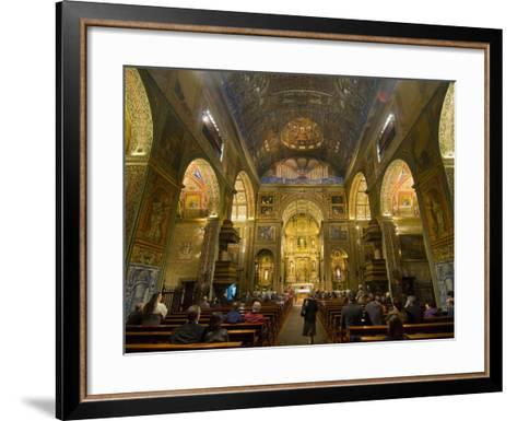Inside the Igreja Do Colegio, Funchal, Madeira, Portugal, Europe-Michael Runkel-Framed Art Print