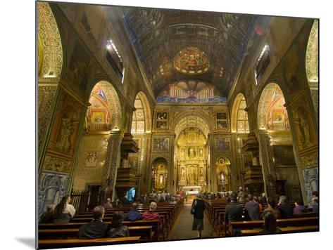 Inside the Igreja Do Colegio, Funchal, Madeira, Portugal, Europe-Michael Runkel-Mounted Photographic Print