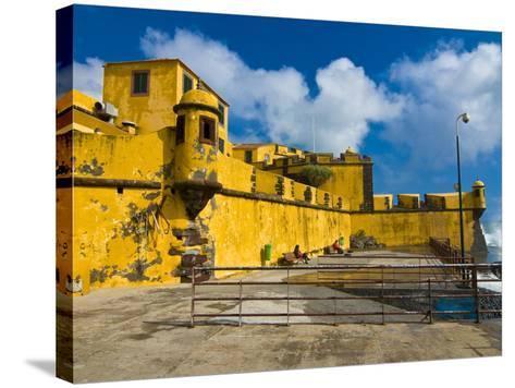 Fortaleza De Sao Tiago, Funchal, Madeira, Portugal, Europe-Michael Runkel-Stretched Canvas Print