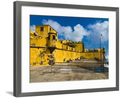 Fortaleza De Sao Tiago, Funchal, Madeira, Portugal, Europe-Michael Runkel-Framed Art Print