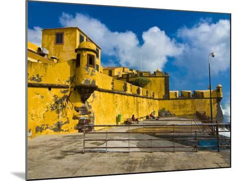 Fortaleza De Sao Tiago, Funchal, Madeira, Portugal, Europe-Michael Runkel-Mounted Photographic Print