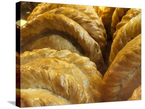 Cornish Pasties, Padstow, Cornwall, England, United Kingdom, Europe-Alan Copson-Stretched Canvas Print