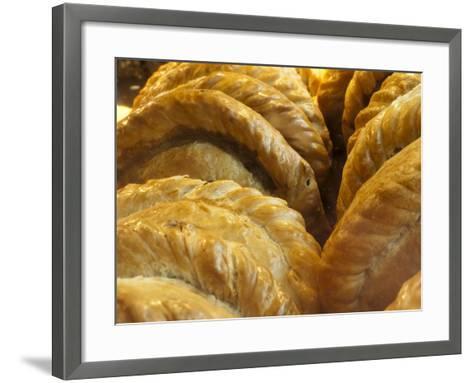 Cornish Pasties, Padstow, Cornwall, England, United Kingdom, Europe-Alan Copson-Framed Art Print