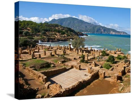 Roman Ruins of Tipasa, on the Algerian Coast, Algeria, North Africa, Africa-Michael Runkel-Stretched Canvas Print