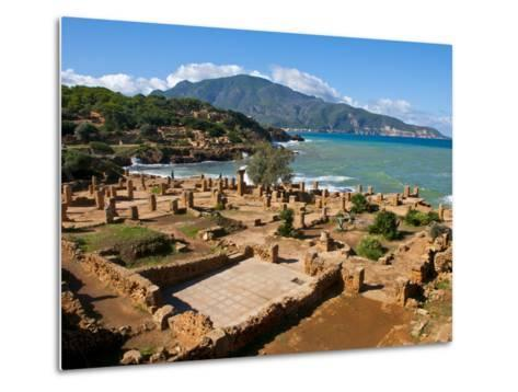 Roman Ruins of Tipasa, on the Algerian Coast, Algeria, North Africa, Africa-Michael Runkel-Metal Print