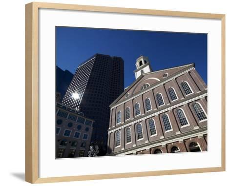 Faneuil Hall, Boston, Massachusetts, New England, USA--Framed Art Print