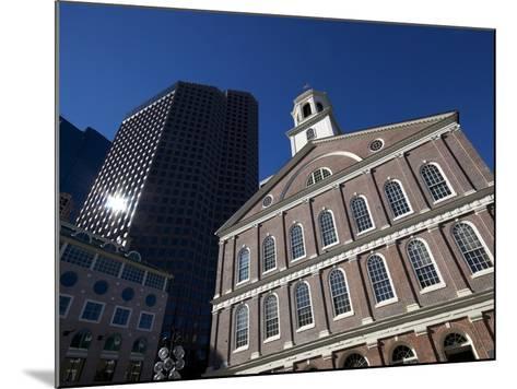 Faneuil Hall, Boston, Massachusetts, New England, USA--Mounted Photographic Print
