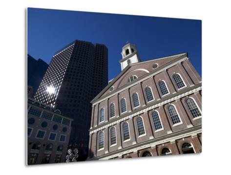 Faneuil Hall, Boston, Massachusetts, New England, USA--Metal Print