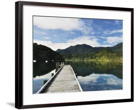 Penzance Bay, Tennyson Inlet, Marlborough Sounds, Marlborough, South Island, New Zealand, Pacific-Jochen Schlenker-Framed Art Print