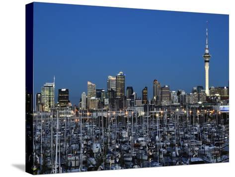 Westhaven, Waitemata Harbour, Auckland, North Island, New Zealand, Pacific-Jochen Schlenker-Stretched Canvas Print