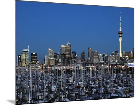 Westhaven, Waitemata Harbour, Auckland, North Island, New Zealand, Pacific-Jochen Schlenker-Mounted Photographic Print