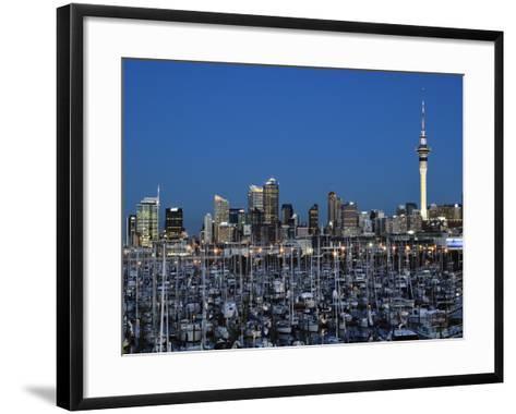 Westhaven, Waitemata Harbour, Auckland, North Island, New Zealand, Pacific-Jochen Schlenker-Framed Art Print