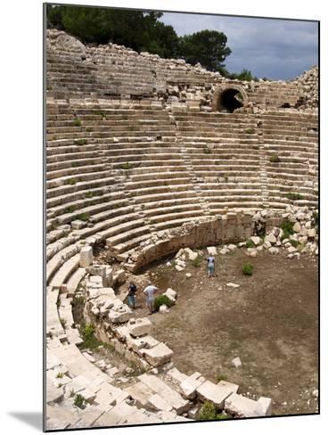 Amphitheatre at the Lycian Site of Patara, Near Kalkan, Antalya Province, Anatolia, Turkey--Mounted Photographic Print