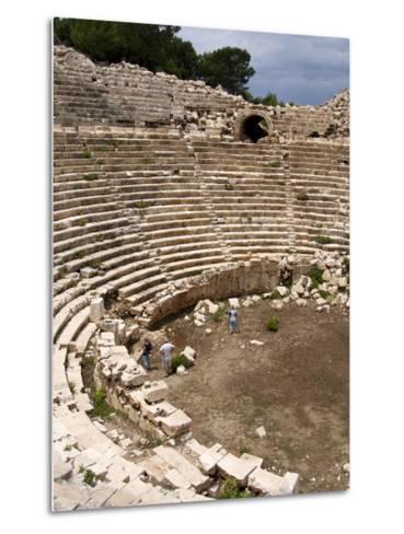Amphitheatre at the Lycian Site of Patara, Near Kalkan, Antalya Province, Anatolia, Turkey--Metal Print