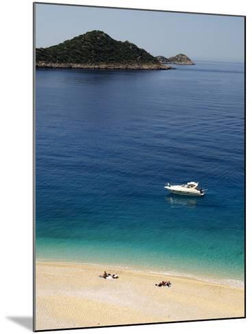 Kaputas Beach at Kalkan Area, Anatolia, Turkey, Asia Minor, Eurasia--Mounted Photographic Print