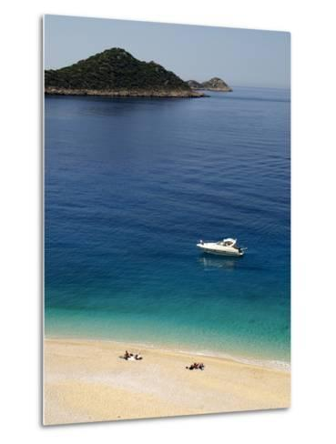 Kaputas Beach at Kalkan Area, Anatolia, Turkey, Asia Minor, Eurasia--Metal Print