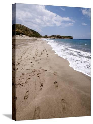 Patara Beach, Near Kalkan, Anatolia, Turkey, Asia Minor, Eurasia--Stretched Canvas Print