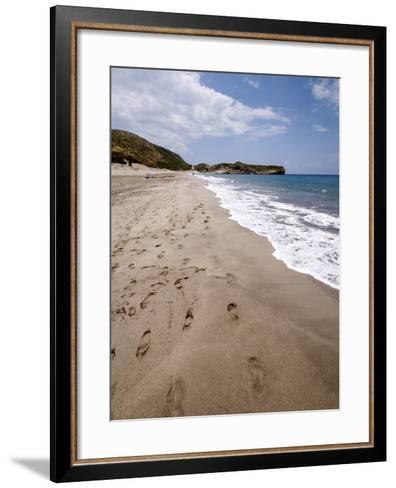 Patara Beach, Near Kalkan, Anatolia, Turkey, Asia Minor, Eurasia--Framed Art Print