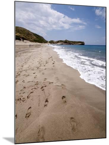 Patara Beach, Near Kalkan, Anatolia, Turkey, Asia Minor, Eurasia--Mounted Photographic Print
