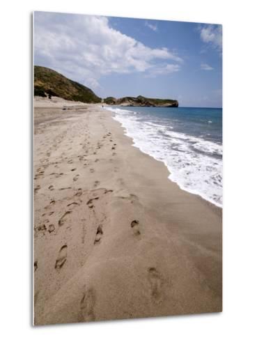 Patara Beach, Near Kalkan, Anatolia, Turkey, Asia Minor, Eurasia--Metal Print