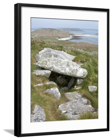 Old Tomb, Samson, Isles of Scilly, United Kingdom, Europe--Framed Art Print