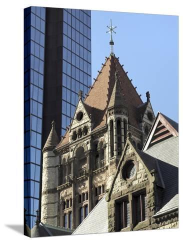 Trinity Church, Hancock Tower, Boston, Massachusetts, New England, USA--Stretched Canvas Print