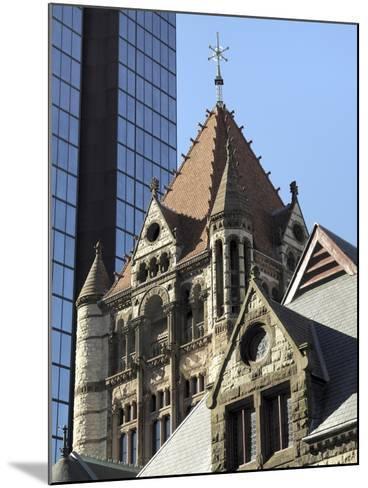 Trinity Church, Hancock Tower, Boston, Massachusetts, New England, USA--Mounted Photographic Print