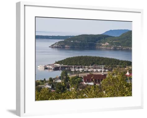 Tadoussac, Quebec, Canada, North America-Michael DeFreitas-Framed Art Print