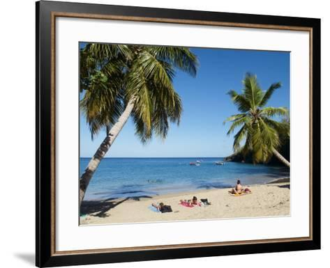 Anse Dufour Beach, Martinique, French West Indies, Caribbean, Central America--Framed Art Print
