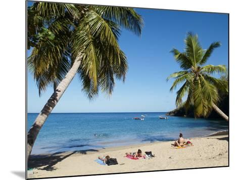 Anse Dufour Beach, Martinique, French West Indies, Caribbean, Central America--Mounted Photographic Print