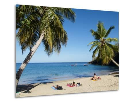 Anse Dufour Beach, Martinique, French West Indies, Caribbean, Central America--Metal Print