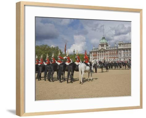 The Changing of the Guard, Horse Guards Parade, London, England, United Kingdom, Europe-James Emmerson-Framed Art Print