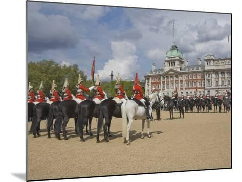 The Changing of the Guard, Horse Guards Parade, London, England, United Kingdom, Europe-James Emmerson-Mounted Photographic Print