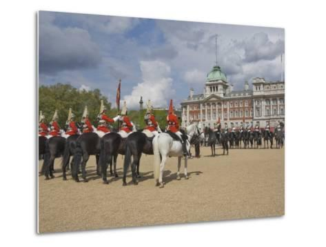 The Changing of the Guard, Horse Guards Parade, London, England, United Kingdom, Europe-James Emmerson-Metal Print