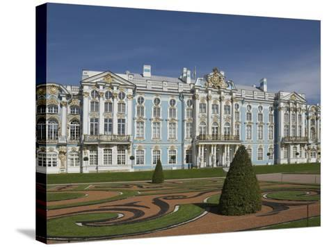 Catherine's Palace, St. Petersburg, Russia, Europe-James Emmerson-Stretched Canvas Print